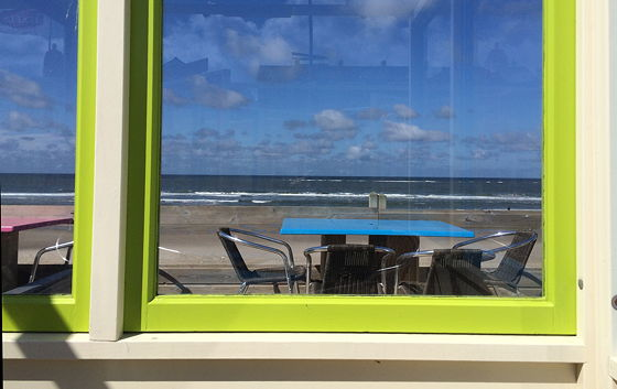 Op vakantie naar Texel! lunchen