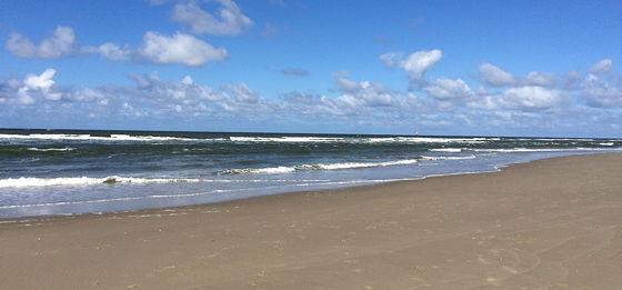 Op vakantie naar Texel! wolkjes