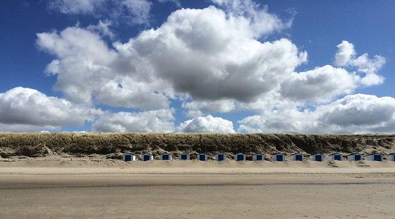 Op vakantie naar Texel! strandhuisjes de koog