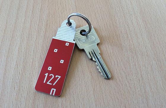 Op vakantie naar Texel! sleutel