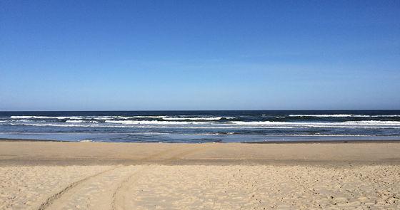 Strandwandeling De Koog & Vuurtoren De Cocksdorp zee