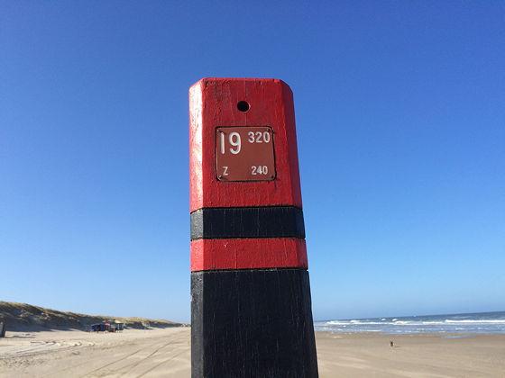 Strandwandeling De Koog & Vuurtoren De Cocksdorp strandpaal 19.320