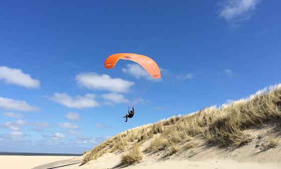 Strandwandeling De Koog & Vuurtoren De Cocksdorp paragliden
