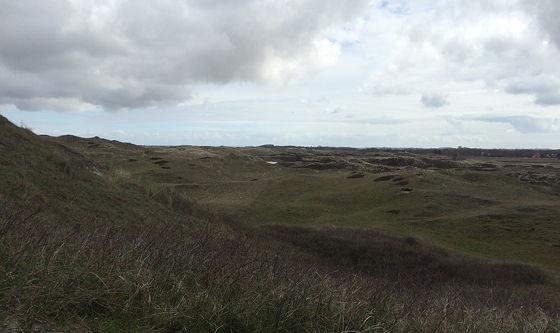 Wandeling De Muy op Texel uitzicht duinen