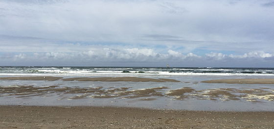 Wandeling De Muy op Texel mooi weer