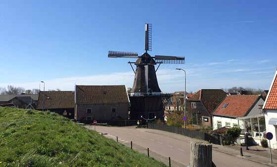 Den Burg, Oudeschild en Strandwandeling De Koog molen