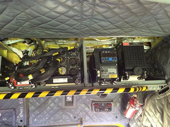 Juttersmuseum en Oorlogs- en Vliegtuigmuseum elektra chinook