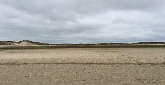 Wandeling de Slufter en Boot naar Vlieland droogte