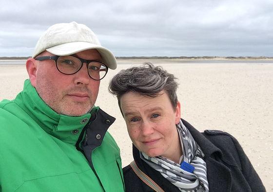 Wandeling de Slufter en Boot naar Vlieland selfie