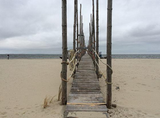 Ploggen 22 April 2015: Wandeling de Slufter en Boot naar Vlieland