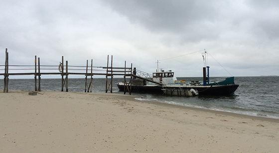 Wandeling de Slufter en Boot naar Vlieland