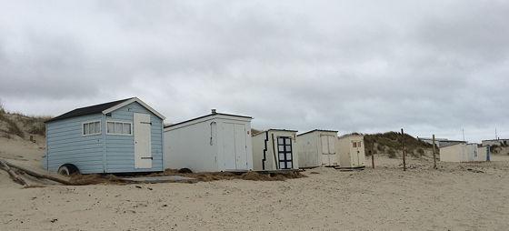 Wandeling de Slufter en Boot naar Vlieland andere strandhuisjes
