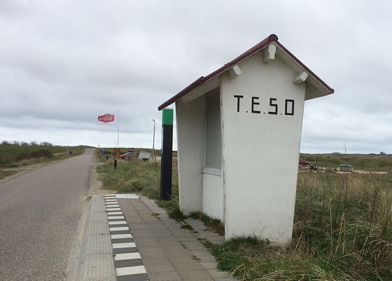 Wandeling de Slufter en Boot naar Vlieland wachthuisje TESO