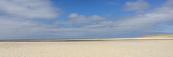 Huifkartocht en Wandeling over Strand en door Duinen momentje slufter
