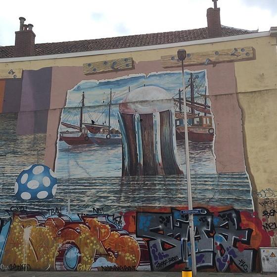 Muurschildering Utrecht