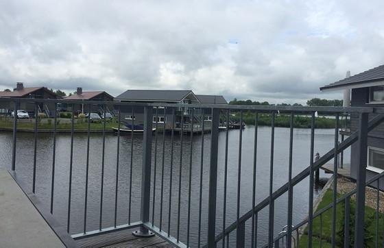 Ploggen 14 Juli 2015: Terherne en Akkrum uitzicht Landal huisje 413 Sneekermeer