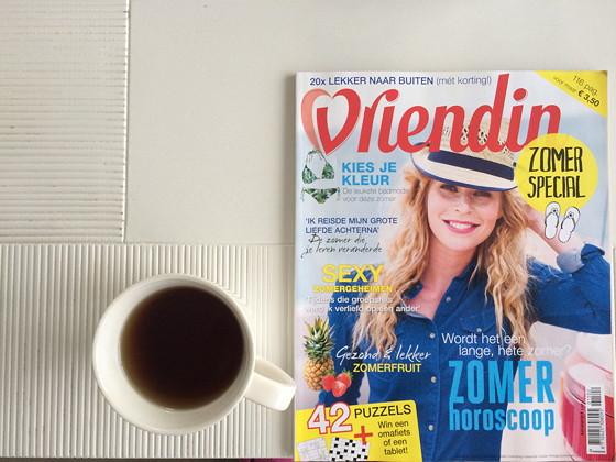 Ploggen 15 Juli 2015: Joure, Sneek en op Visite thee en vriendin zomerspecial