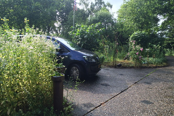 Ploggen 15 Juli 2015: Joure, Sneek en op Visite onze auto vw up