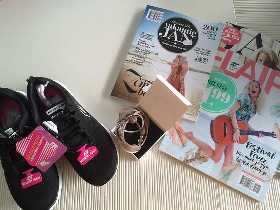 Ploggen 15 Juli 2015: Joure, Sneek en op Visite shopdingetjes.