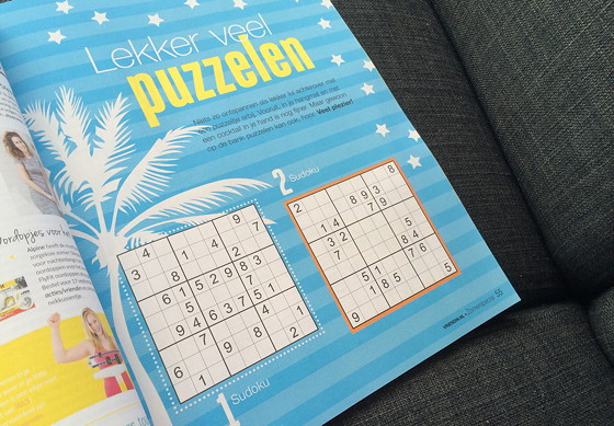 Ploggen 16 Juli 2015: Zonnig Dagje in Terherne sudoku