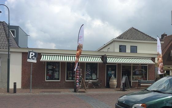 Ploggen 16 Juli 2015: Zonnig Dagje in Terherne supermarkt fijen