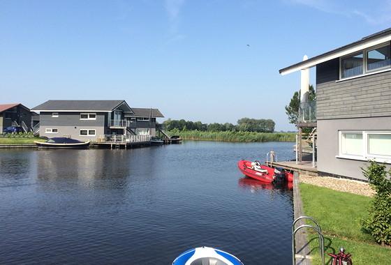 Ploggen 17 Juli 2015: Grou en Wandelen bij Sneekermeer mooi weer