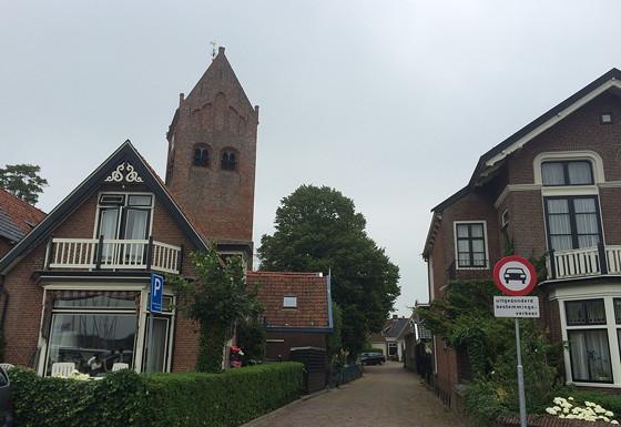 Ploggen 17 Juli 2015: Grou en Wandelen bij Sneekermeer leuke straatjes