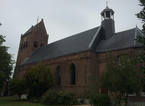 Ploggen 17 Juli 2015: Grou en Wandelen bij Sneekermeer kerk grou