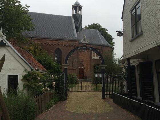 Ploggen 17 Juli 2015: Grou en Wandelen bij Sneekermeer poort kerk
