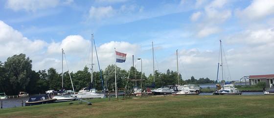 Ploggen 17 Juli 2015: Grou en Wandelen bij Sneekermeer vlag