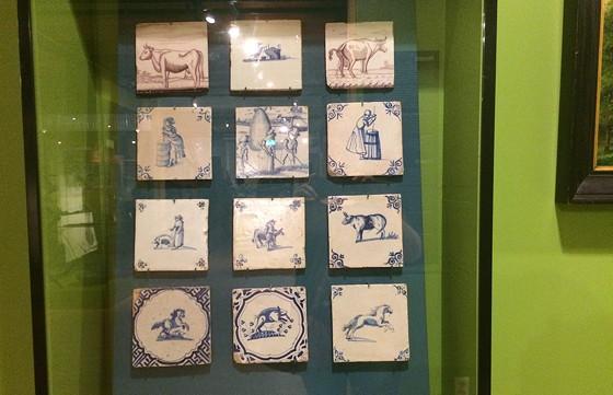 Ploggen 18 Juli 2015: Frysk Landbouwmuseum en Alde Feanen Earnewald tegeltjes