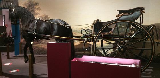 Ploggen 18 Juli 2015: Frysk Landbouwmuseum en Alde Feanen Earnewald fries paard
