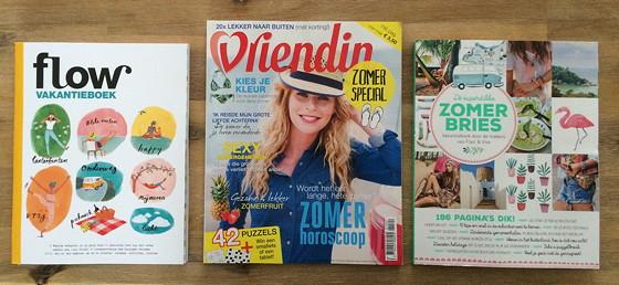 Zomerboeken 2015: Flow Vakantiebox, Vriendin Zomerspecial en Zomerbries