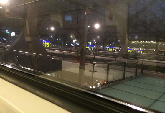Ploggen 9 September 2015: HAK Bonen Erbij Event trein intercity rotterdam