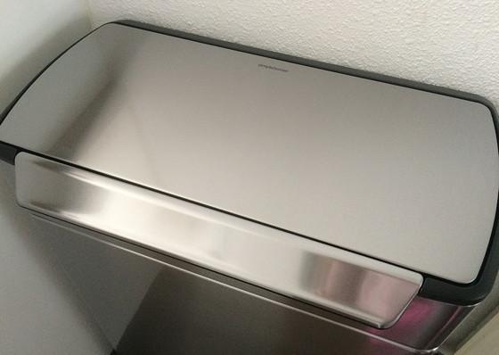 SimpleHuman dubbele afvalbak