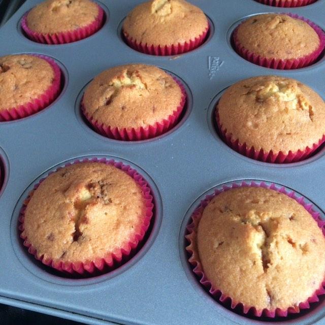 cupcakes in de oven
