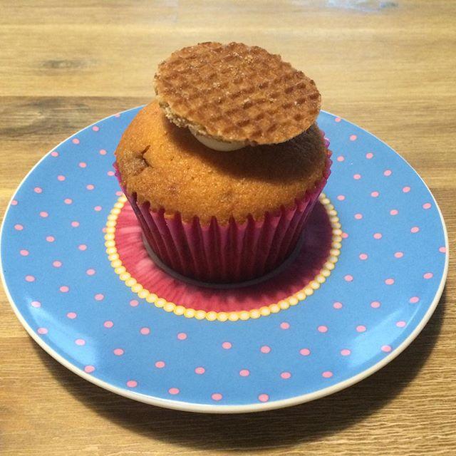 stroopwafel cupcakes af