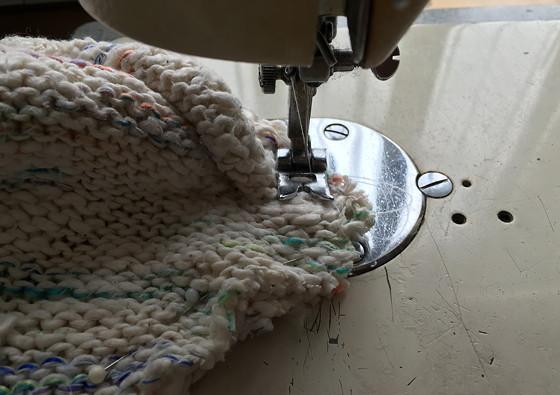 sloffen naaien