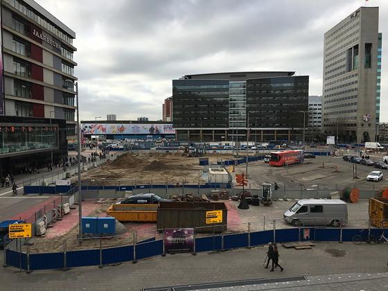 Margriet Winterfair 2015 Utrecht Centraal Jaarbeurszijde werkzaamheden