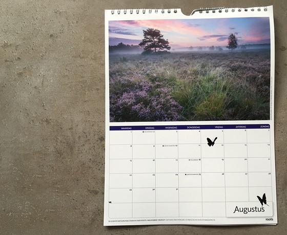 Roots kalender 2016