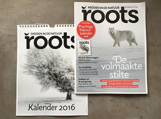 Roots Magazine December 2015 en kalender