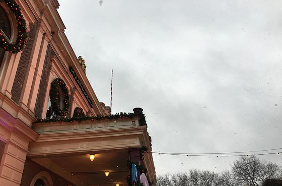 Allerhande Kerstfestival 2015 in Spoorwegmuseum sneeuwvlokjes