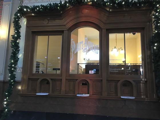 Allerhande Kerstfestival 2015 in Spoorwegmuseum loket