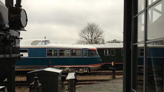 Allerhande Kerstfestival 2015 in Spoorwegmuseum voorin zitten