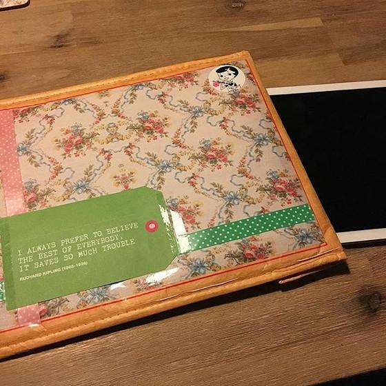 iPad hoes voorkant