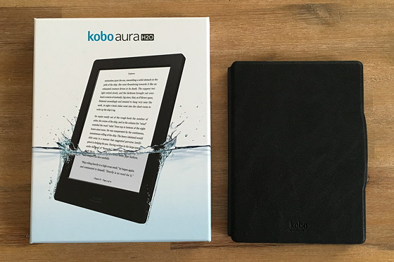 Kobo Aura H2O doos sleepcover