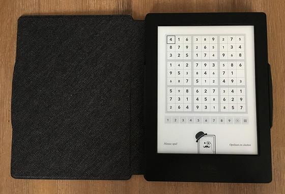 Kobo Aura H2O Sudoku
