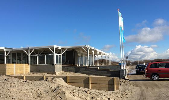Ploggen 7 Maart 2016: Strandhuisjes van Landal Beachvilla's receptie