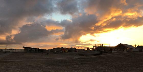 Ploggen 8 Maart 2016: Rondje Hoek van Holland en Bunkers in de duinen zon