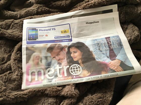 Ploggen 9 Maart 2016: Shoppen in Den Haag Metro